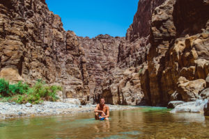 Canyon im Wadi Mujib Nationalpark